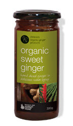 organic sweet ginger