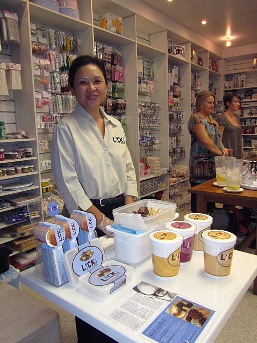 samples of lick ice cream