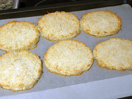 coconut macaroons for ice cream sandwiches