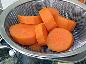 parboiled yams