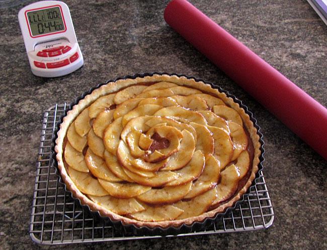 an Aussie apple tart