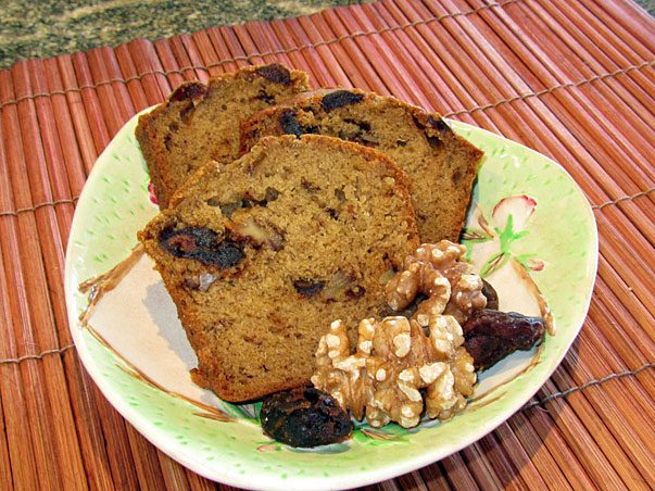 Date, Walnut and Banana Bread