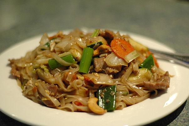 Beef Pad Thai from Yummy Thai in Buderim