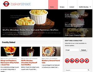 Bakerstreet.tv a baking blog