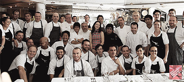 Chefs at Noosa Food and Wine Festival