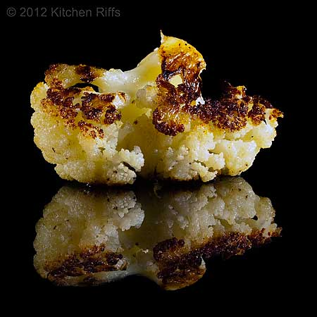 Roast Cauliflower by kitchenriffs.com