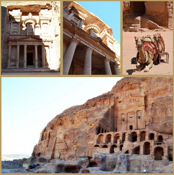 City of Petra in Jordan