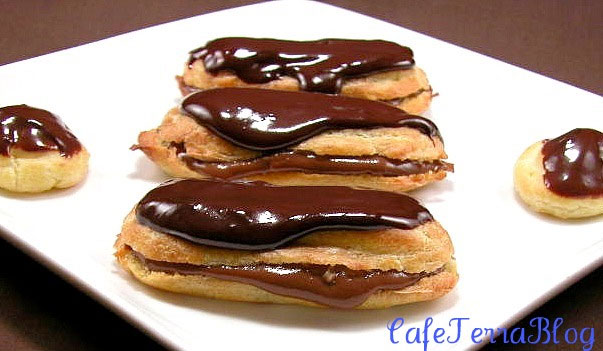 Eclairs by Cafe Terra Blog