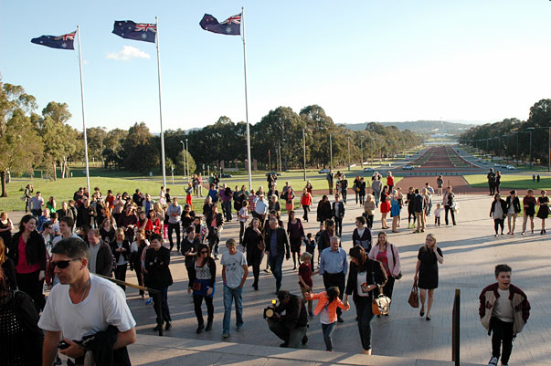 human brochure group in Canberra