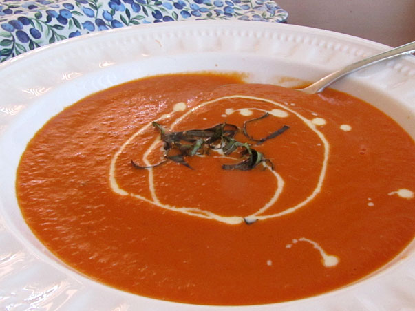 Cream of Tomato Soup for Sandy
