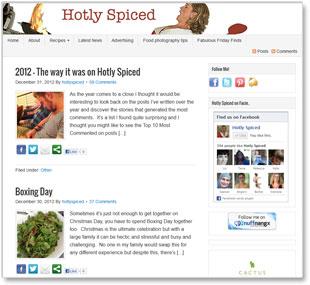 Hotly Spiced Food BlogHotly Spiced Food Blog