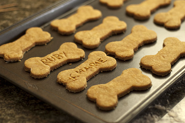 Homemade Dog BiscuitsHomemade Dog Biscuits
