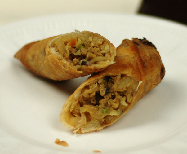how to make spring rolls at home