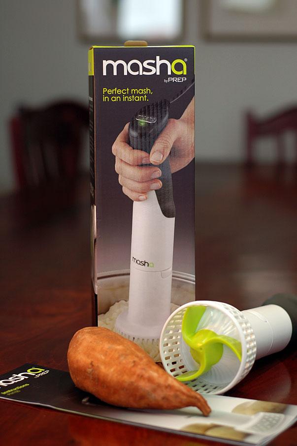 Masha electric potato masher