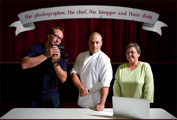 The Chef, the photographer and the blogger