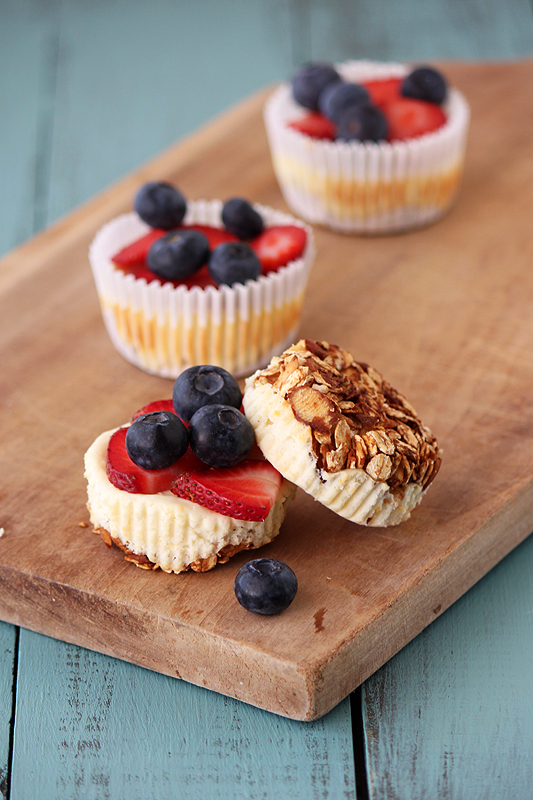 Breakfast Cheesecake Cupcakes