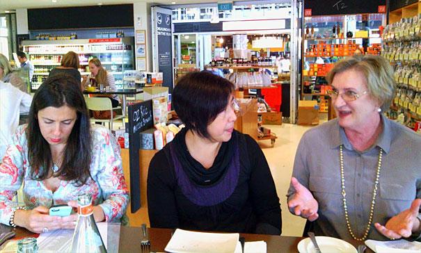 Danielle Crismani, Julie Tjiandra and Liz Hemphill