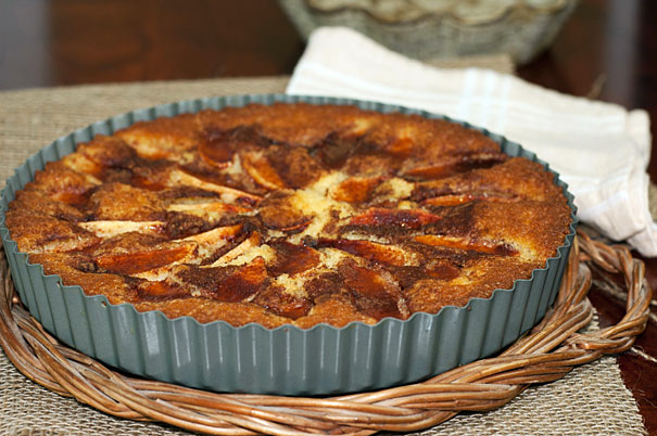Eplekake - Norwegian Apple Cake