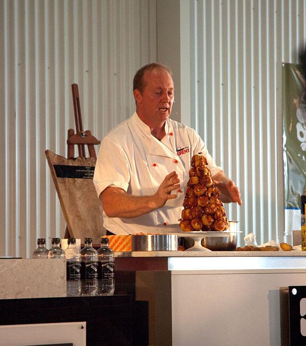 Chef Laurant Vancam