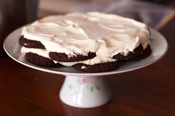 Making a Chocolate Ripple Cake