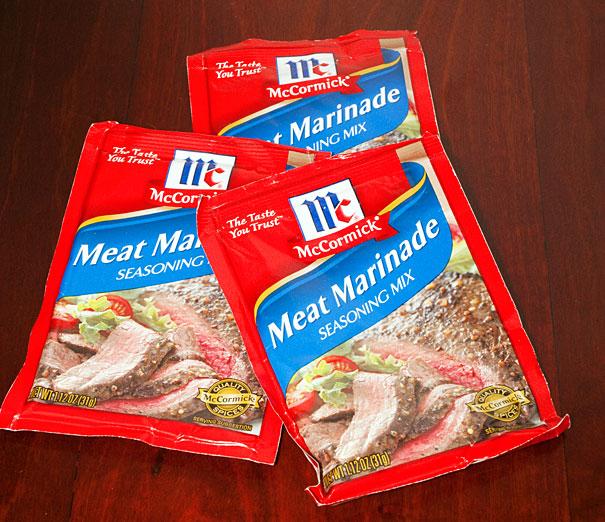 McCormick Meat Marinade