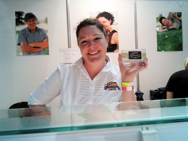 Ceridwen Brown from Milawa Cheese