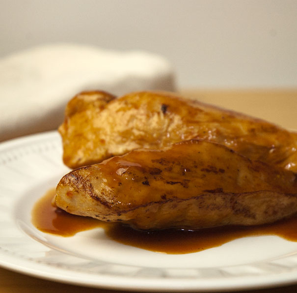 Chicken with Coca Cola Sauce