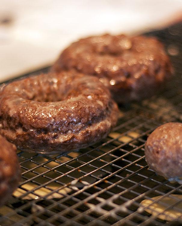 glazed chocolate donuts recipe