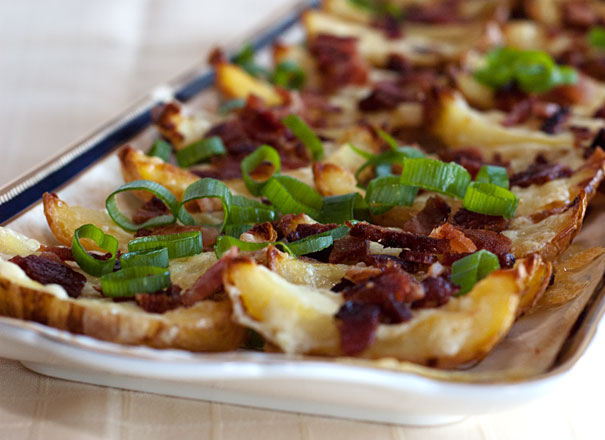 potato skins appetizers