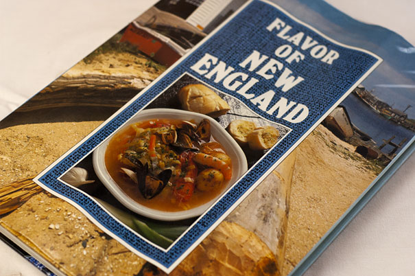 Flavor of New England Cookbook