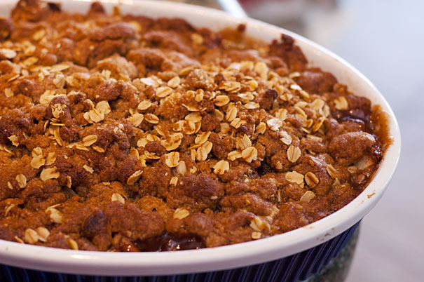 New England Apple Crisp