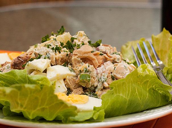 Potato Salad with Salmon