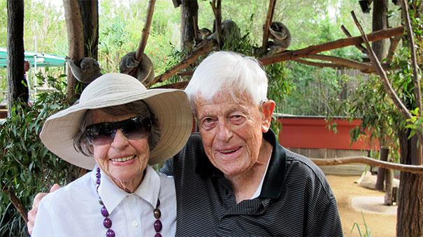 Joan and Rob