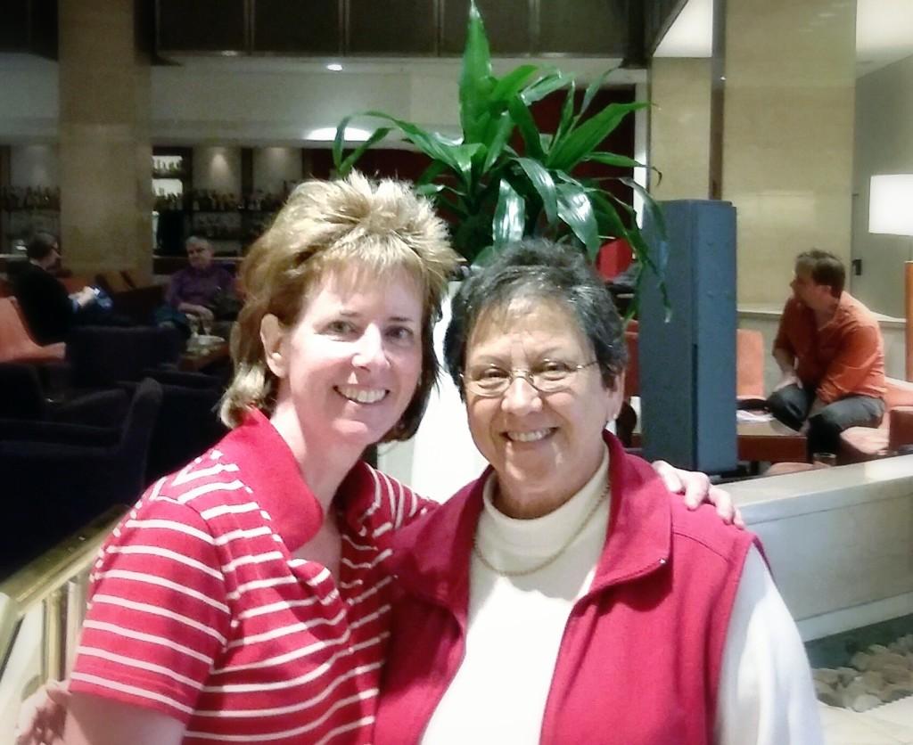 Joanne Ferguson and me