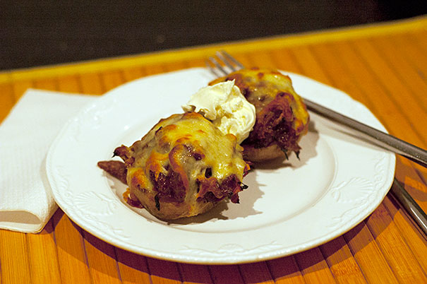 BBQ Stuffed Baked Potato Recipe