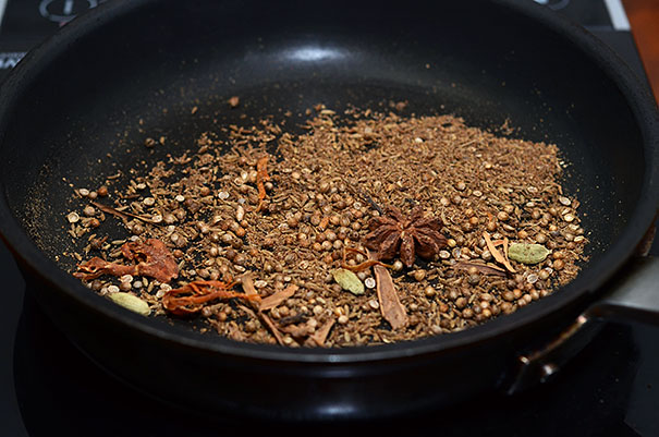 toasted spices