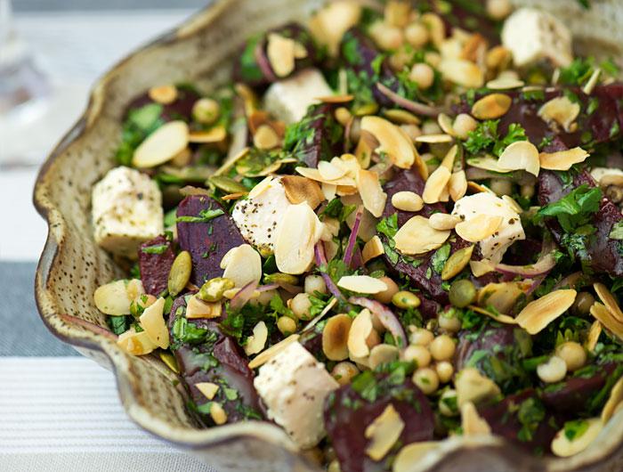 moghrabieh salad