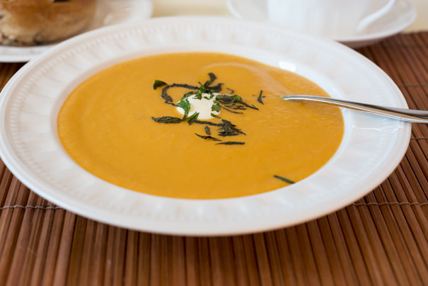 Sweet Potato and Pear Soup