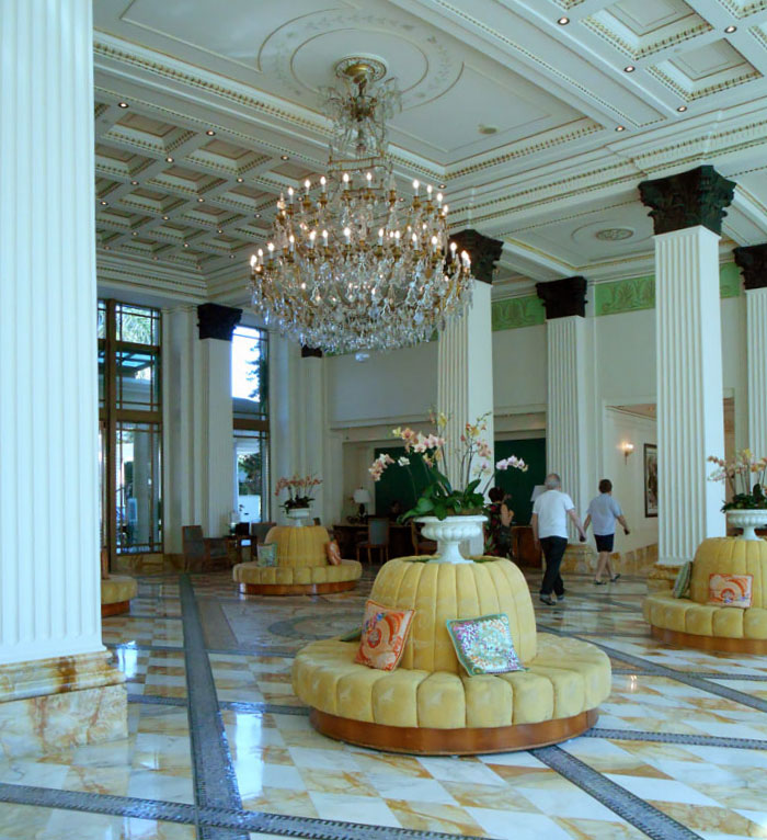 Lobby of the Palazzo Versace