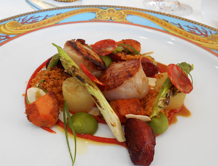 Scallops with Braised Daikon