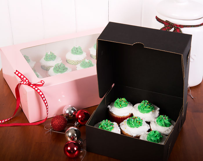 Vanilla Cupcakes in a PackQueen Cake Box
