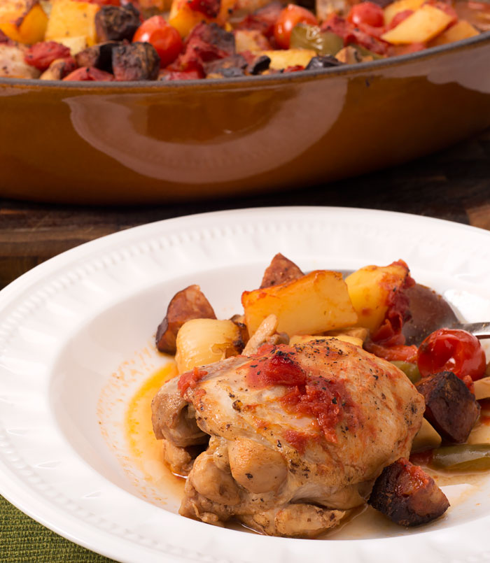 Chicken and Chorizo
