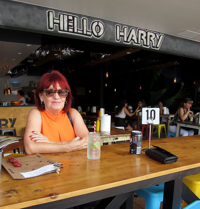 Hello Harry, The Burger Joint