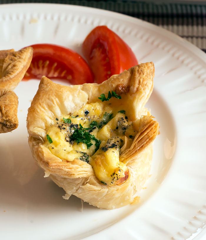 Puff Pastry Breakfast Tarts