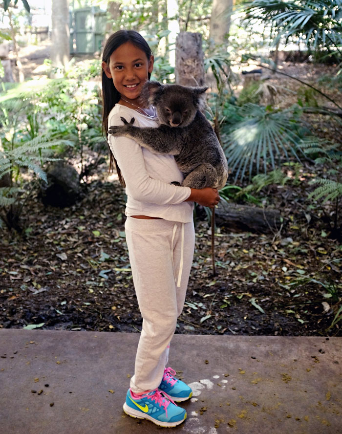 Jade and the Koala