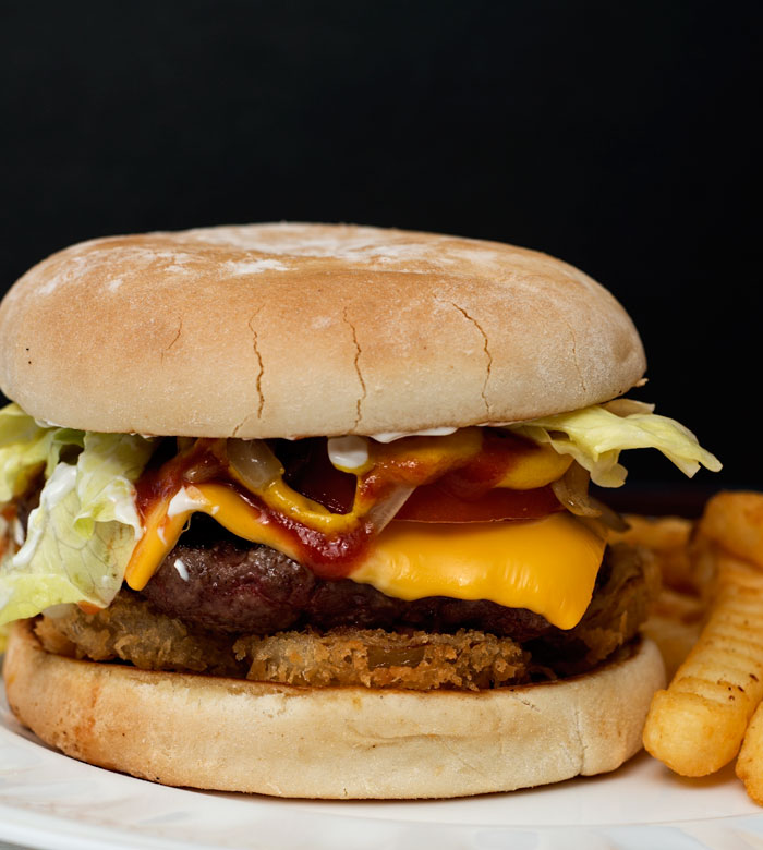 Double Onion Cheeseburger