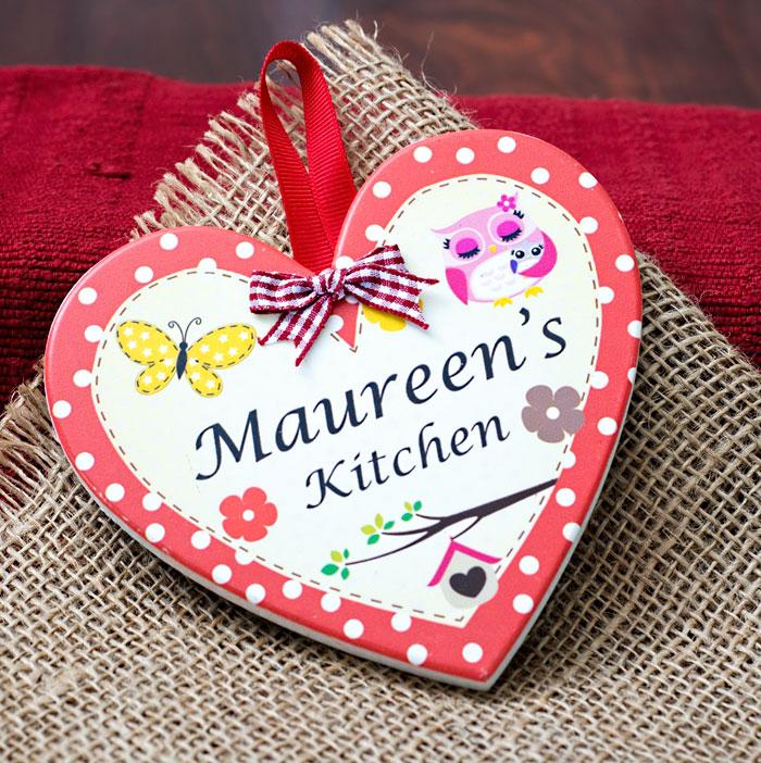 Maureen's Kitchen plaque