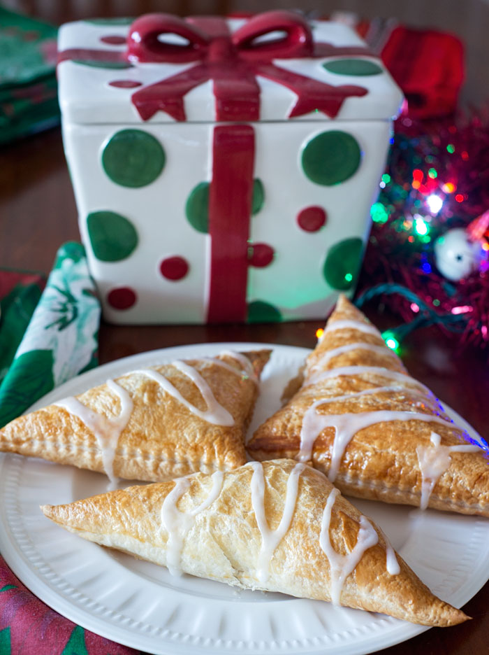 Puff pastry turnovers