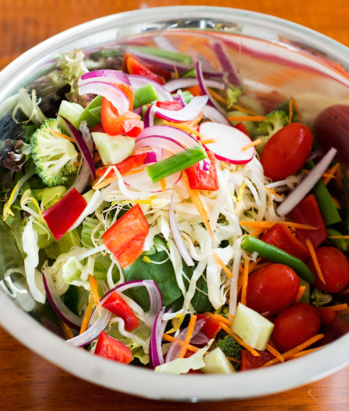 Salad from a Jar